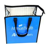 Custom Customized 145g Laminated Woven Insulated Cooler Bag 12
