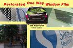 Custom Perforated One Way Window Film
