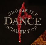 Custom Gross Ile Academy of Dance Rhinestones Heat Transfer Design (can be customized)