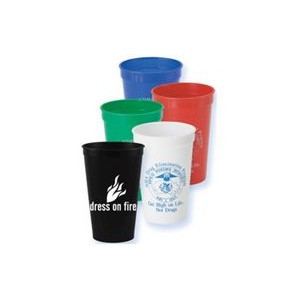 22 oz. Solid Stadium Cups