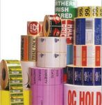 Custom Rectangle Full Color Indoor/ Outdoor Stickers on Rolls (8.5