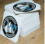 Custom Full Color Vinyl Indoor/ Outdoor Stickers (2.5