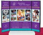 Custom 5' Presentation Single Sided Table Top Display (64