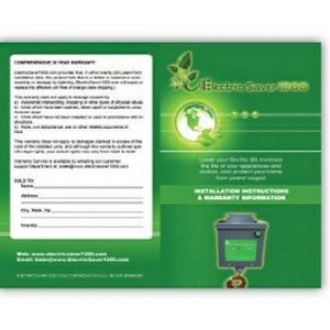 Eco Friendly 1/4 Page Rack Card