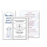 Full Page Rack Card/ Letterhead/ Flyer/ Catalog Sheet w/ 1-Color Imprint