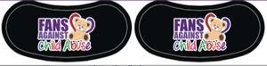 Eye Strips - Eye Black - Peel & Stick Tattoo Sheet
