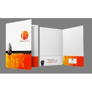"Presentation Folder w/ UV Gloss (9""x12"")"