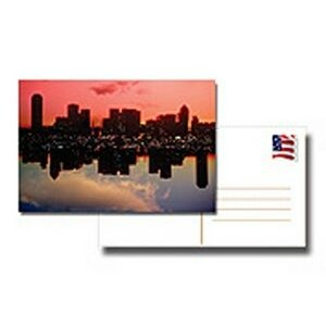 "14 Point Post Cards with UV In 4/4 Full Color (1.5""x7"")"