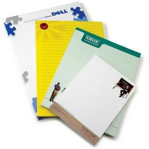 "Full Bleed 25 Sheet Uncoated Notepad (4.25""x5.5"")"