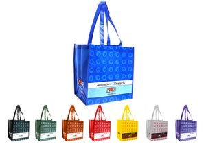 Laminated Tote Bag 13x15x8 NW