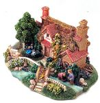 Custom 3D Miniature House Replicas