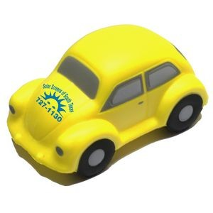 Yellow Classic VW Bug Car Stress Reliever