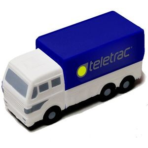 Blue and White Delivery Truck Stress Reliever
