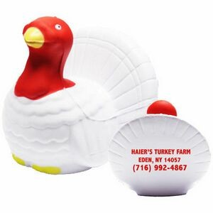 White Turkey Stress Reliever