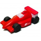 Red Race Car Stress Reliever