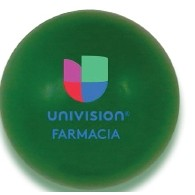 Solid Colored Green Stress Ball