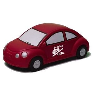 Red New VW Bug Stress Reliever