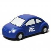 Blue New VW Bug Stress Reliever