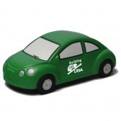 Green New VW Bug Stress Reliever
