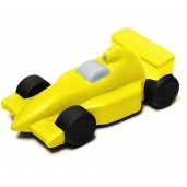 Yellow Race Car Stress Reliever