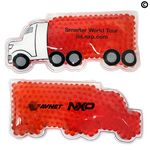 Custom Red Semi Truck Hot/ Cold Pack with Gel Beads
