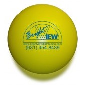Solid Colored Yellow Stress Ball