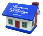 Custom House Stress Reliever w/ Blue Roof