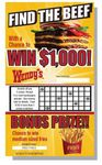 Custom Custom Scratch and Win Card Collection