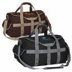 Custom Expresso Canvas Duffle Bag