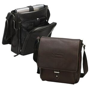 Bellino Columbia Vertical Laptop Messenger Bag