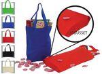Custom Non Woven Polypropylene Tote Bag w/ Gusset