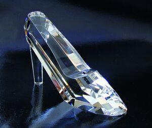 Large Optical Crystal Slipper Award