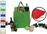 Custom Recyclable Jumbo Non Woven Tote Bag w/ Gusset
