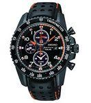 Custom Seiko Men's Sportura Solar Chronograph Watch