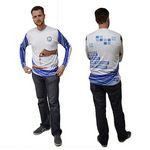 Custom 2 Day Air, Dye-Sub Unisex Long Sleeve Crew T-Shirt