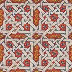 Custom Jennifer Taylor Adhesive Accents-Morocco Red (2'x8')