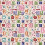 Custom Jennifer Taylor Adhesive Accents-Alphabet Pink (1'x2')