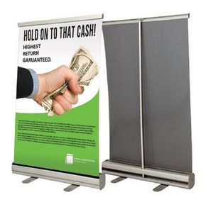 Tabletop Retractable Banner Kit (24x35.5)