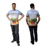 Custom 2 Day Air, Dye-Sub Unisex Short Sleeve Crew T-Shirt