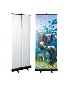 Economy Retractable Banner Kit (33.5x78)