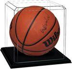 Custom Blank Basketball Display Case with Base