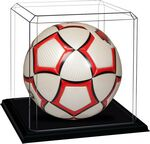 Custom Blank Soccer Display Case with Base