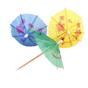 Paper Cocktail Toothpick Umbrellas/Parasols for Party