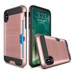 Custom iPhone X Credit Card Slot Case