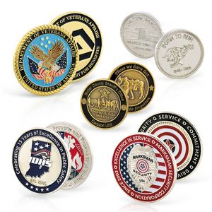 Die Struck Cast Zinc Alloy Coins (1 1/2