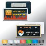 Custom Plastic Name Badge - Classic with laminated insert