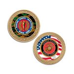 Custom Round Gold Coin