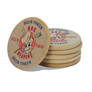 Wooden Nickel/Token