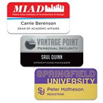 Custom Aluminum Name Badge