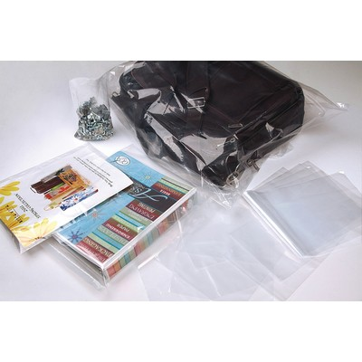 Clear Bags® 1.5 Mil Flat Poly Bag (3